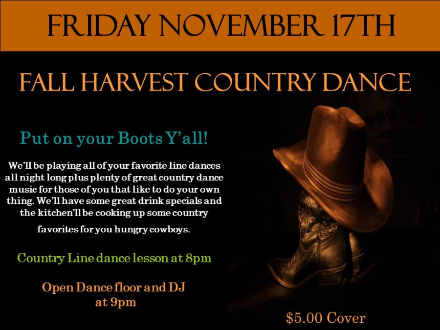 November Poster Country dance[11805]