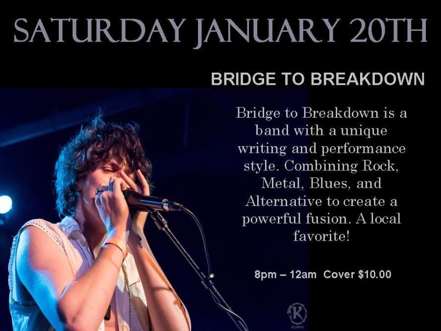 January Poster Bridge to breakdown