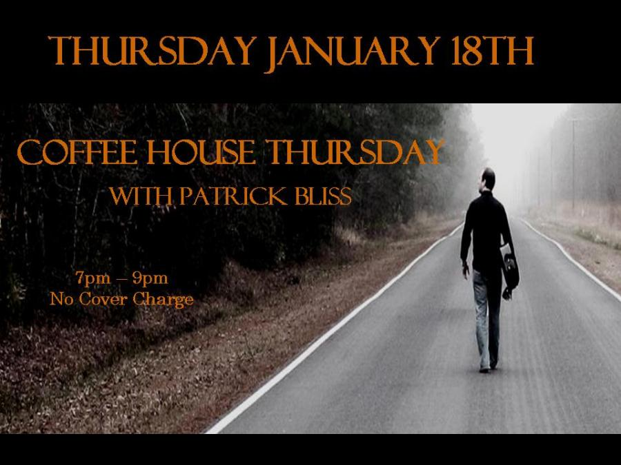January Poster Coffee house