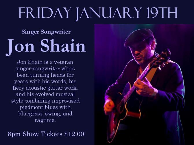 January Poster Jon Shain