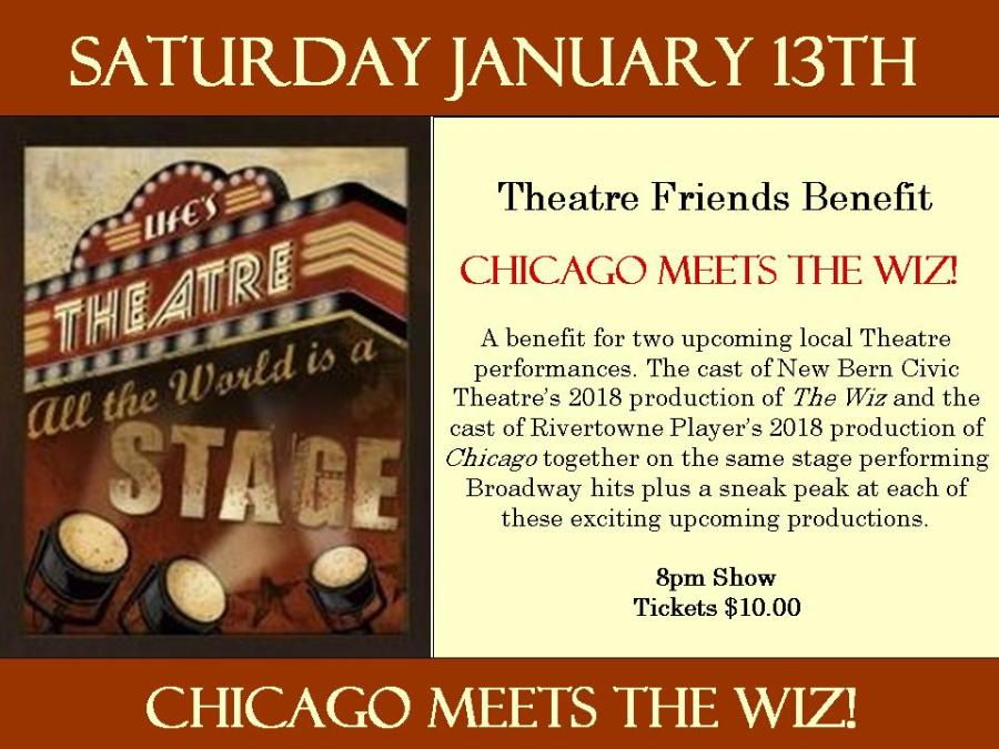 January Poster Theatre Friends