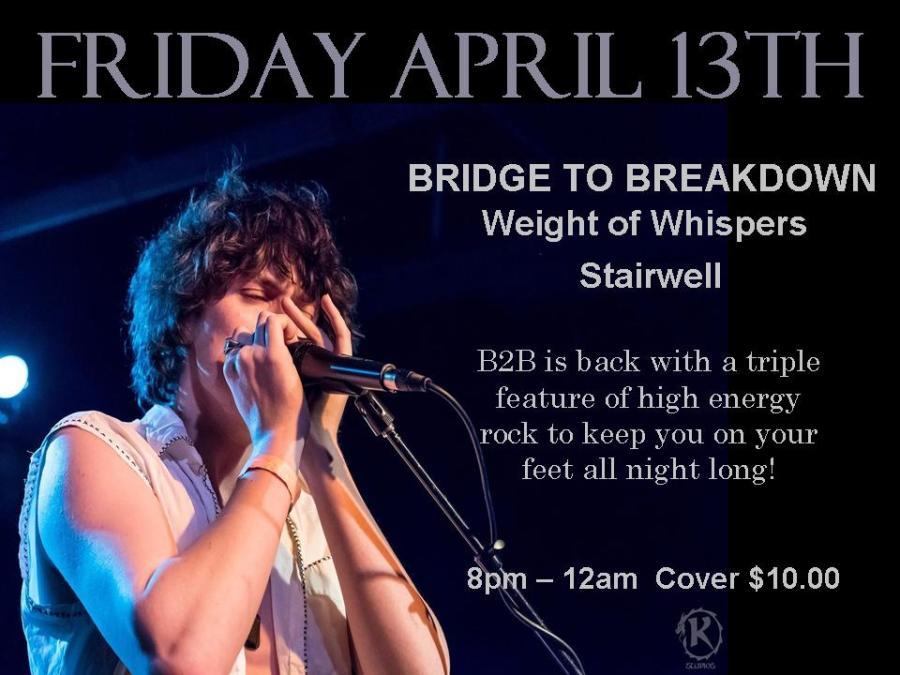 April Poster Bridge to breakdown
