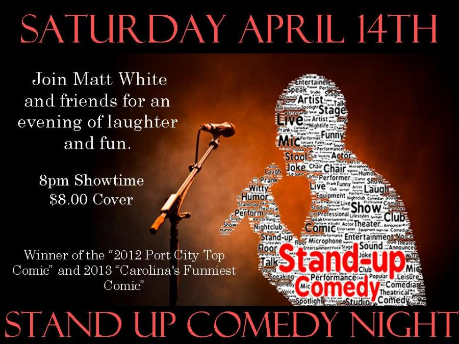 April Poster Comedy