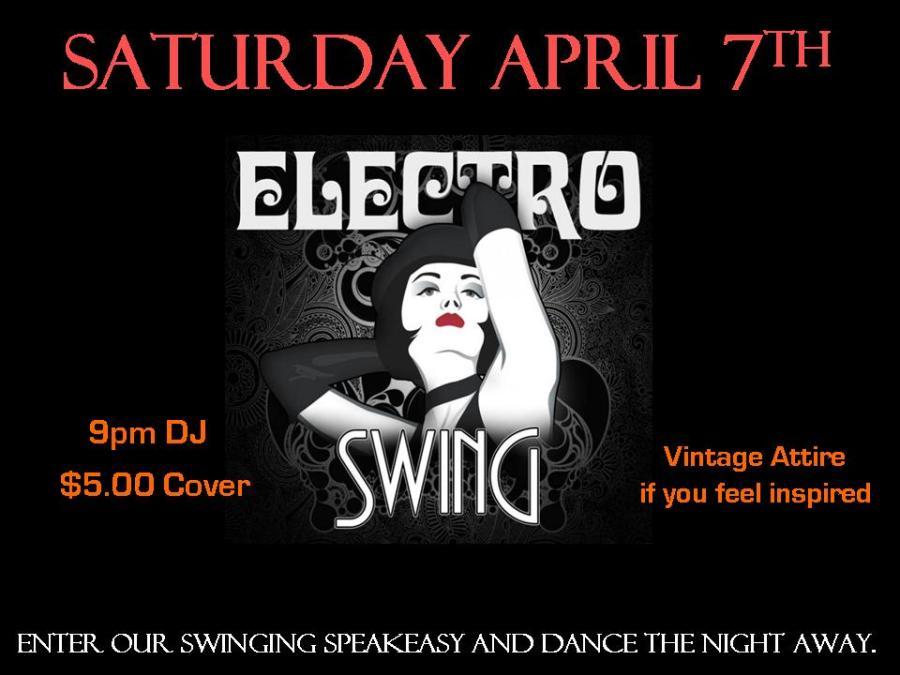 April Poster Electro Swing