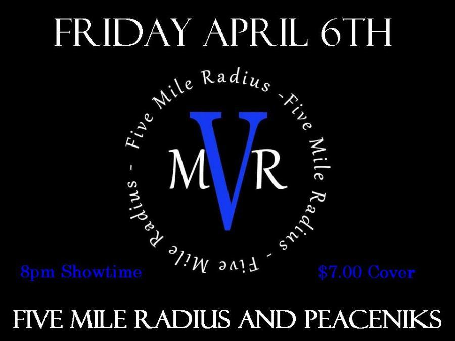 April Poster Five Mile radius