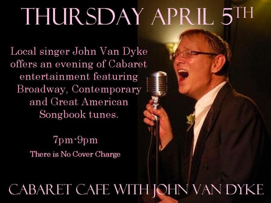 April Poster John Van Dyke